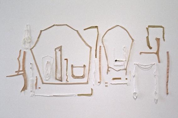 "Saatchi Online Artist: Nicole Barakat; ""Flayed (again)"""