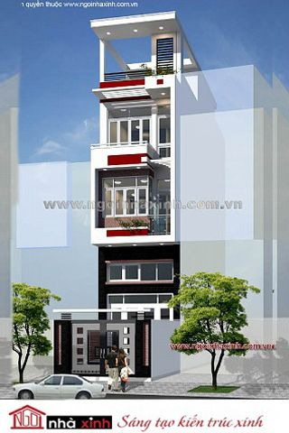Chủ đầu tư: Anh Hải. Địa chỉ: Phường 1, Quận 10, Tp HCM. Diện tích: 4m x 10m. Phong cách hiện đại trong thiết kế kiến trúc nhà phố đang được rất nhiều  gia chủ lựa chọn bởi vẻ đẹp khỏe khoắn, năng động mà tươi trẻ mà phong cách kiến trúc mang lại. Không quá cầu kỳ trong thiết kế kiến trúc, mẫu nhà phố đẹp hiện đại nổi bật với vẻ đẹp khỏe khoắn và nhẹ nhàng.