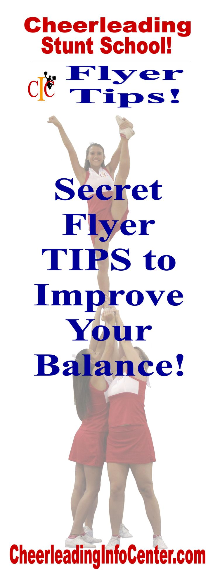 Would like some great tips to help improve your balance?  Check out CheerleadingInfoCenter.com for all of the details!