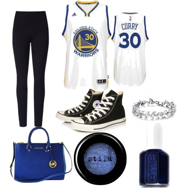 cute girls golden state warriors outfits and go warriors by taytaygotswagg  on Polyvore featuring polyvore fashion style adidas Lyssé Leggin… 3e20e3679