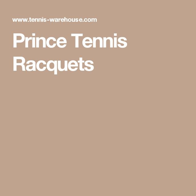 Prince Tennis Racquets - new tennis racquet (similar to my prince beast) and balls.