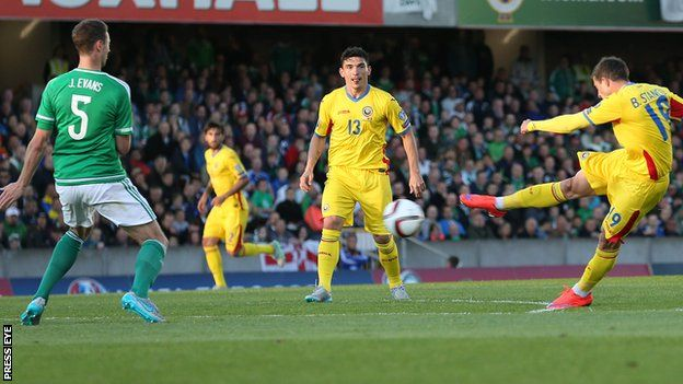 Northern Ireland remain a point behind Group F leaders Romania after a scrappy Euro 2016 qualifying draw in Belfast.