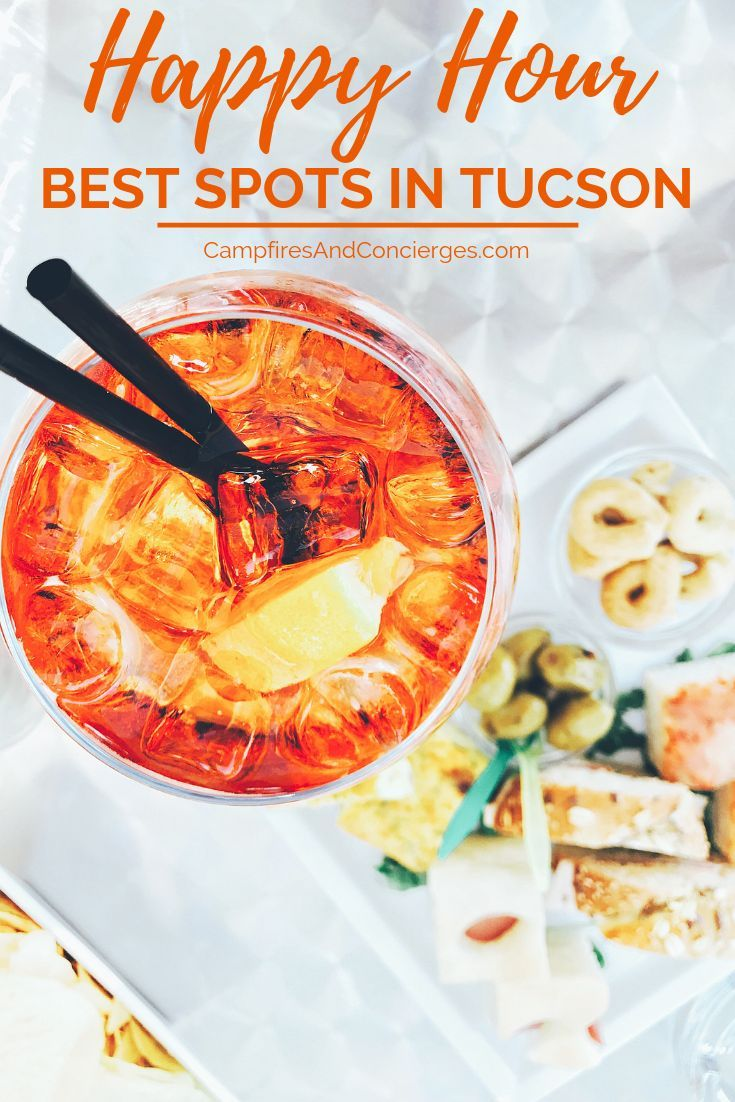 Eat, Drink & Be Thrifty at These Tucson Comfortable Hour Spots