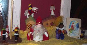 Sinterklaas seasonal table