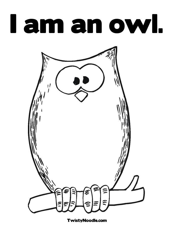 Purple Owl Coloring Page That You Can Customize And Print For Kids
