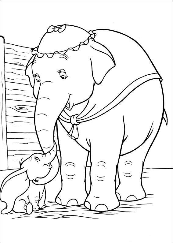 Dumbo 2 Dibujos Faciles Para Dibujar Para Ninos Colorear Malvorlagen Malvorlagen Pferde Disney Gemalde
