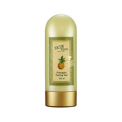 SKINFOOD-Pineapple Peeling Gel **Great alternative for people who find typical facial scrubs too abrasive. I use this once or twice a week for smoother, brighter skin. This product is VERY comparable to the Peter Thomas Roth FIRMx Peeling Gel at a fraction of the cost.**