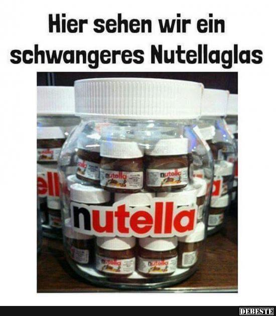 We heard you like nutella, so we put nutella in yo nutella