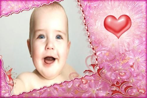 Moldura molduras para fotos infantil