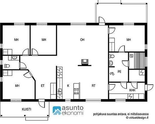 Myydään Omakotitalo 5 huonetta - Seinäjoki Hallila Mikonraitti 6 B - Etuovi.com 9615763