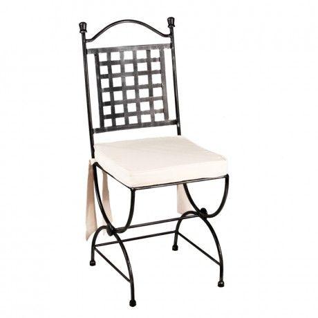 best 25 chaise en fer ideas on pinterest lustres en fer. Black Bedroom Furniture Sets. Home Design Ideas