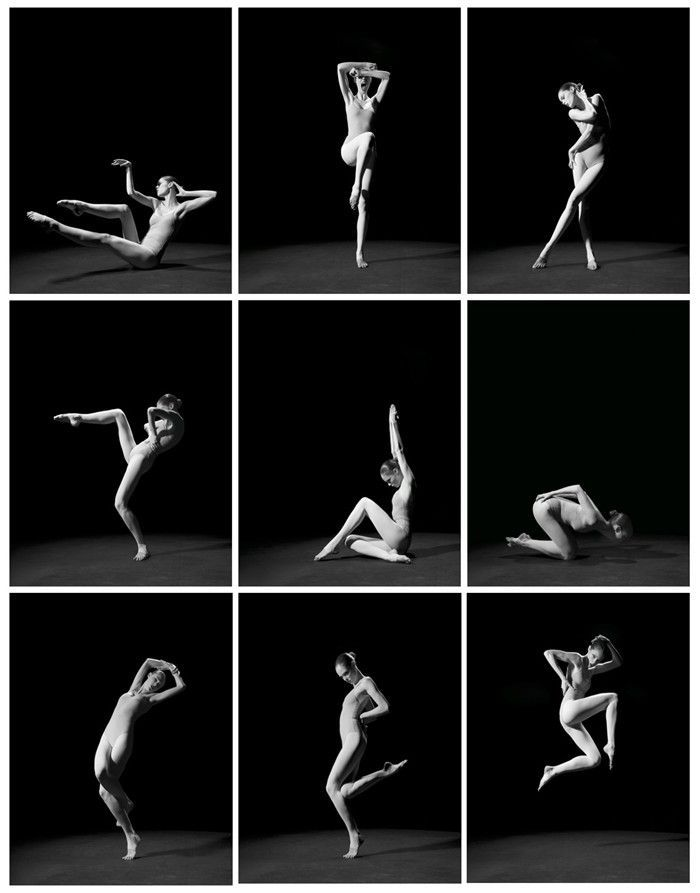 [Fig. 1] Study of Pose: 1,000 Poses by Coco Rocha and Steven Sebring: