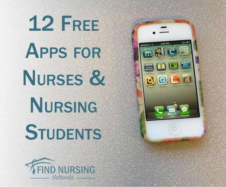 12 Free Apps for Nurses and Nursing Students - These are must haves for all nurses!-- Sharon... have you seen this?