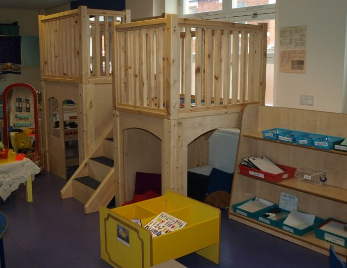 Classroom Loft Ideas ~ Classroom lofts spacesaving wooden structures to