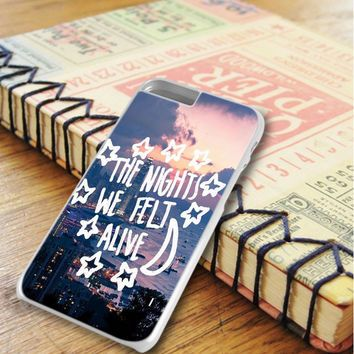 All Time Low City Night Music Qoutes iPhone 6 Plus | iPhone 6S Plus Case