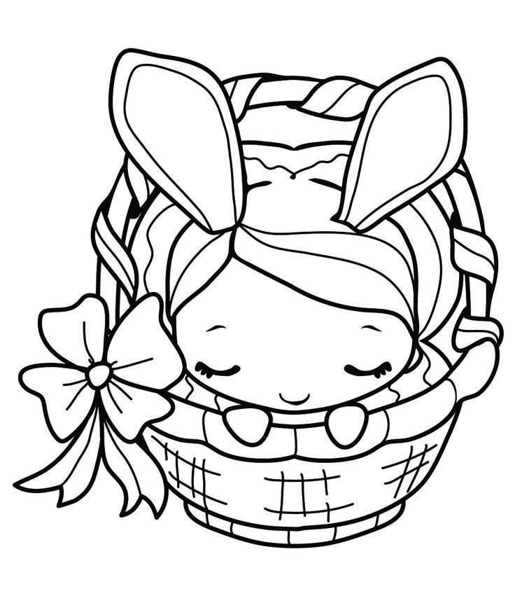 Easter Anya from The Greeting Farm
