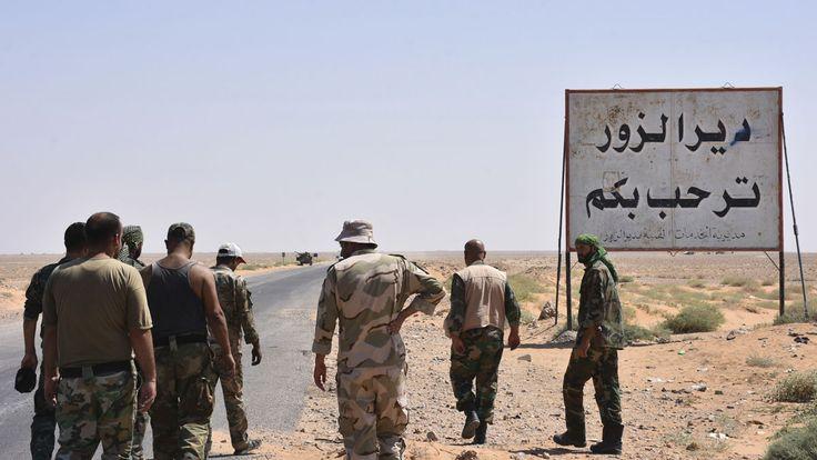 El Estado Islámico mata a dos militares rusos tras atacar su convoy en la ciudad siria de Deir Ezzor