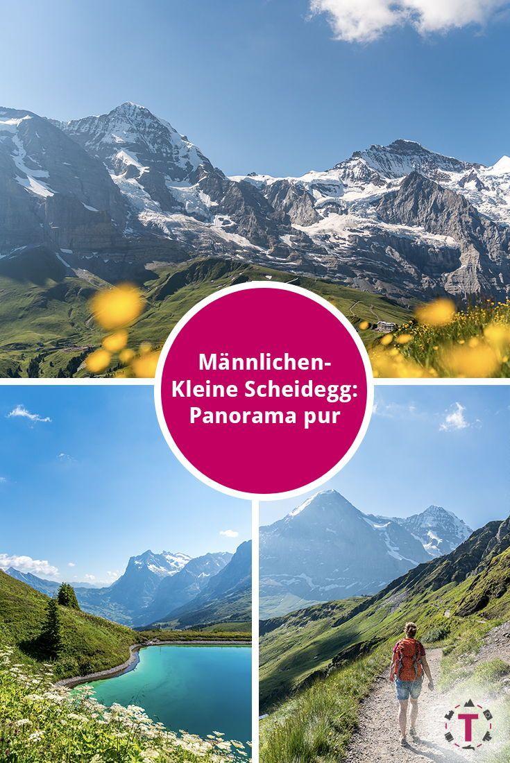Panoramaweg Mannlichen Kleine Scheidegg Wanderung Im Berner