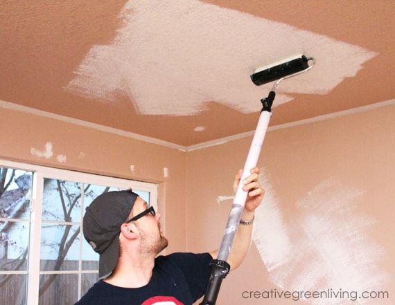 How To Paint A Ceiling Tips To Do It The Fastest Easiest Way