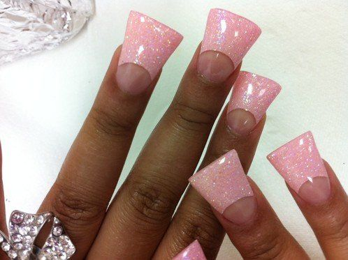 """Horrible... I mean how do you function with these """"Duck Feet Nails"""" ?? Ugly...."""