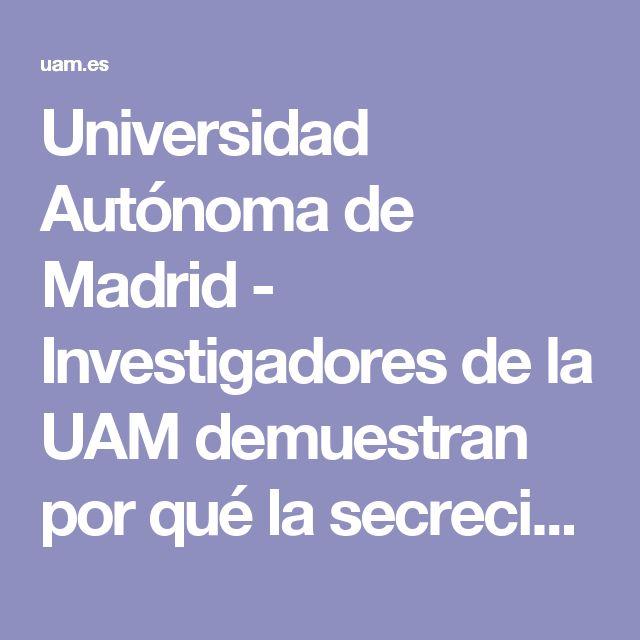 Universidad Autónoma de Madrid - Investigadores de la UAM demuestran por qué la secreción del molusco Cryptomphalus aspersa, el caracol común de jardín, tiene propiedades regenerativas sobre la piel humana.