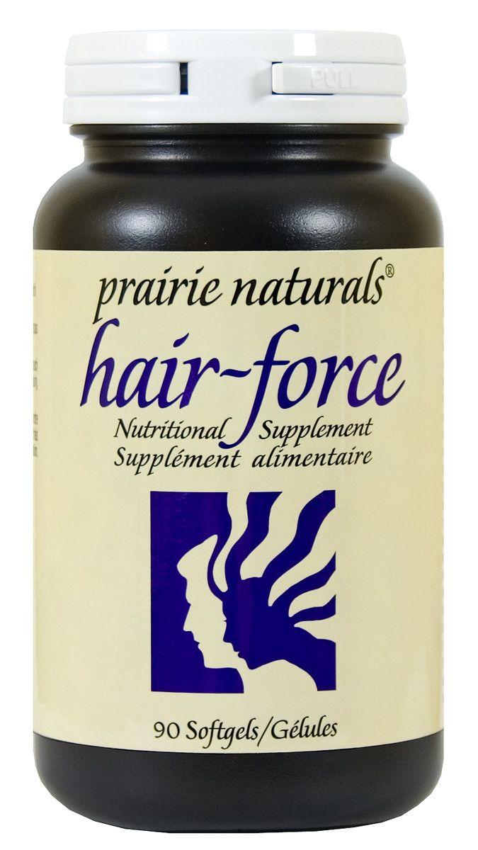 Prairie Naturals Hair Force 90 softgels | Sunrise Health Foods