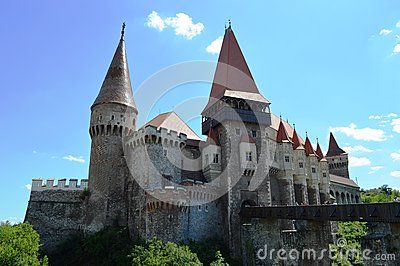 Corvinilor, Huniazilor Castle from Tranylvania. One of the most beautifull castles in the world.