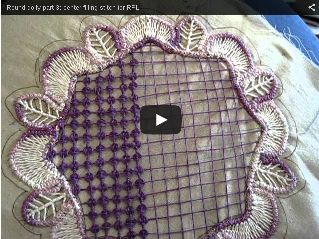 Part 3: Video center filling stitch http://sunshinescreations.vintagethreads.com/search/label/romanian%20point%20lace%20tutorial