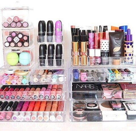 S Makeup Pinterest Organisation De Maquillage Maquillage Et Rangements
