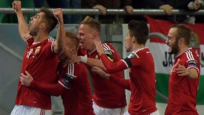 Hungary bound for finals after Norway win. RIA RIA HUNGÁRIA #hungarywon #hajrámagyarország #euro2016 #france