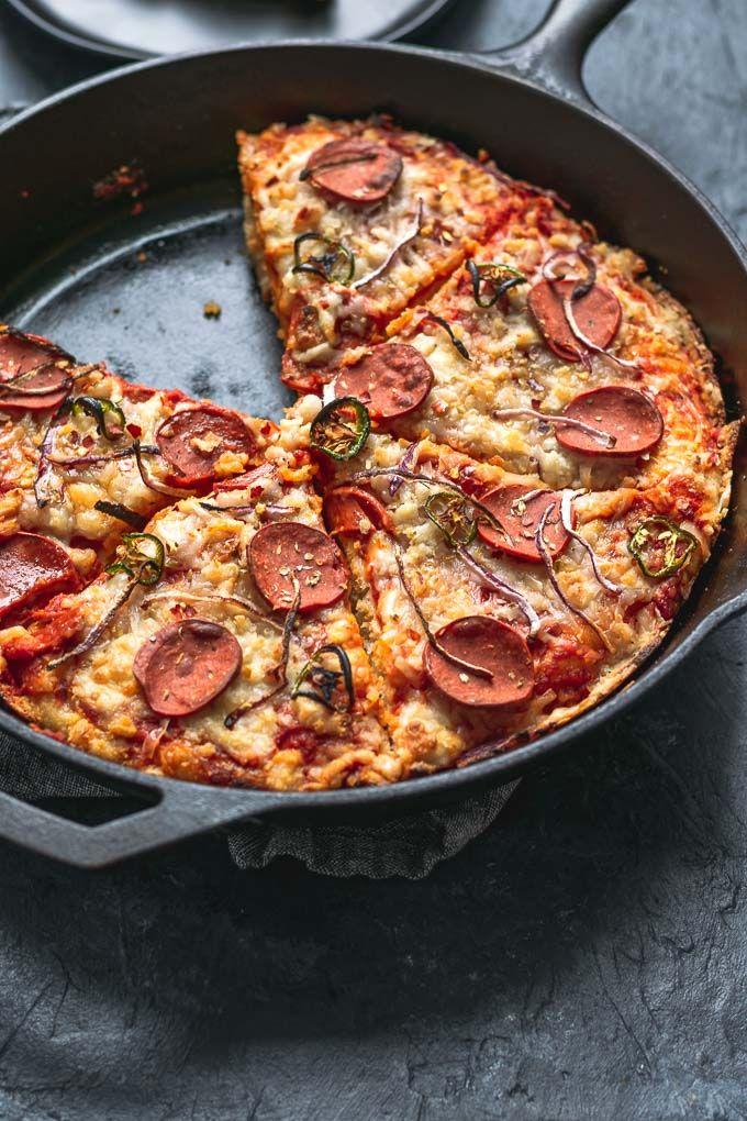 Vegan Pepperoni Pan Pizza Recipe Vegan Pepperoni Pizza Recipes Homemade Food