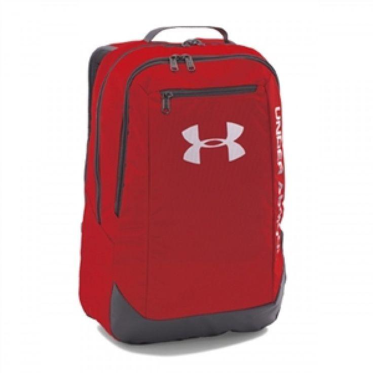 Sportovní červený batoh Under Armour Hustle