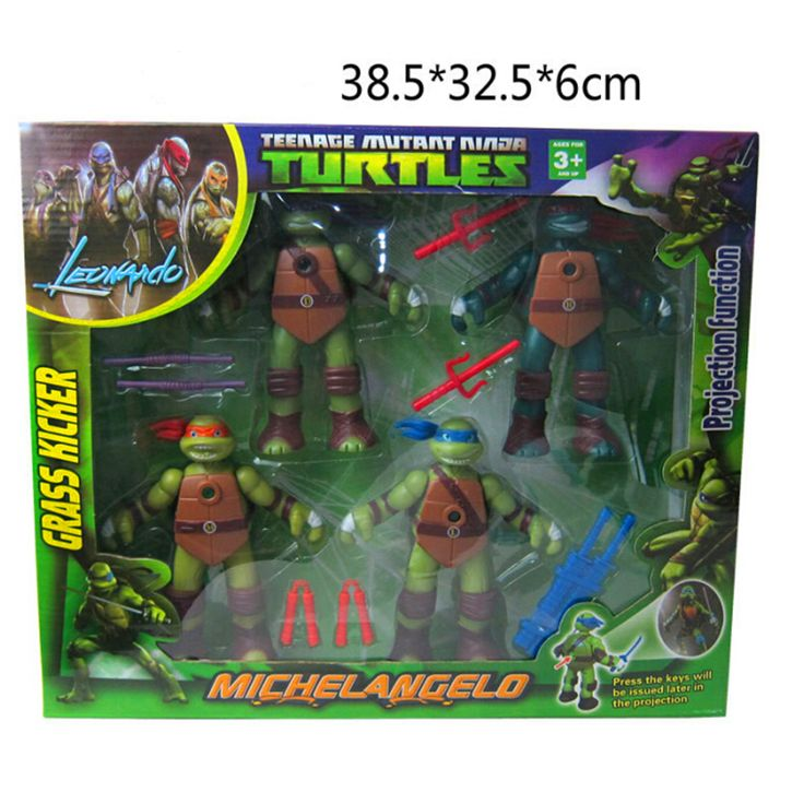New Version of The Teenage Mutant Ninja Turtles Action Figure With Projection Function Retail Box #>=#>=#>=#>=#> Click on the pin to check out discount price, color, size, shipping, etc. Save and like it!