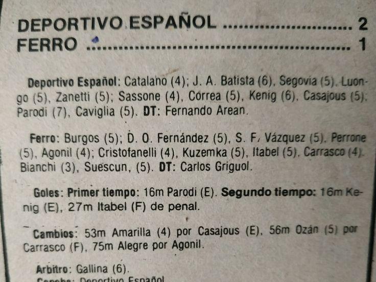 Campeonato argentino1989 en 2020 campeonato argentino