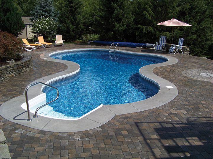 Radiant Inground Mountain Lake Pool Incredible Pools