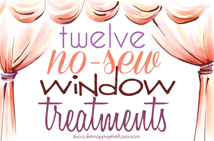 1000 images about curtains and windows no sew sew on for I need new windows for my house