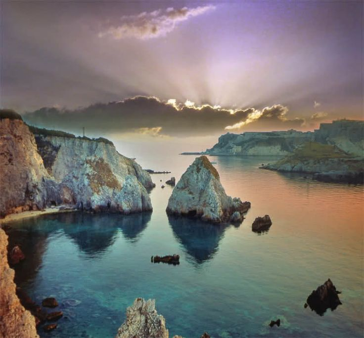 Tremiti islands, Adriatic coast (Italy)