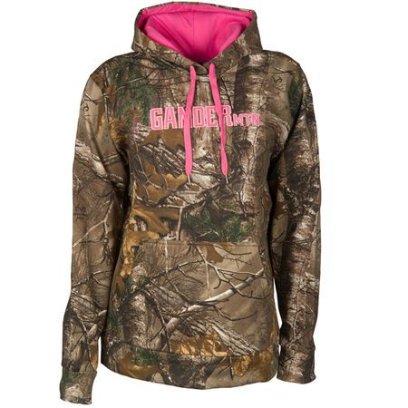 Gander Mountain Womens Classic Camo Gear Hoodie