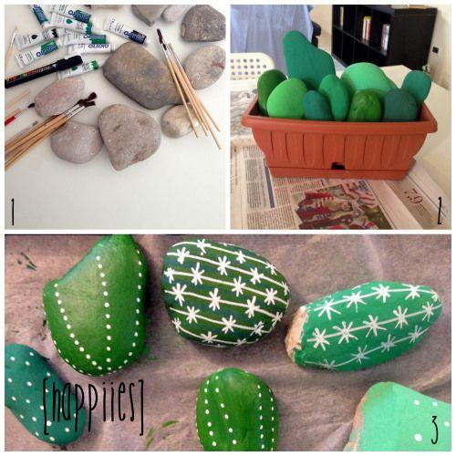 DIY Rock Cactus ^.^