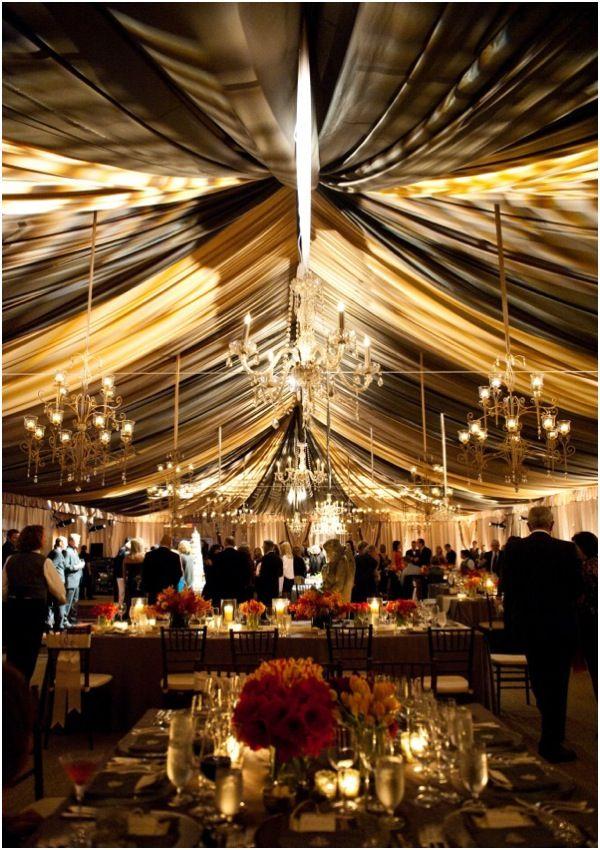 47 best tent uplighting images on pinterest wedding for Wedding tent lighting ideas