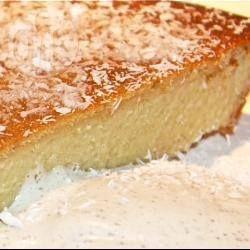 Gluten Free Lemon Honey Coconut Cake @ allrecipes.co.uk