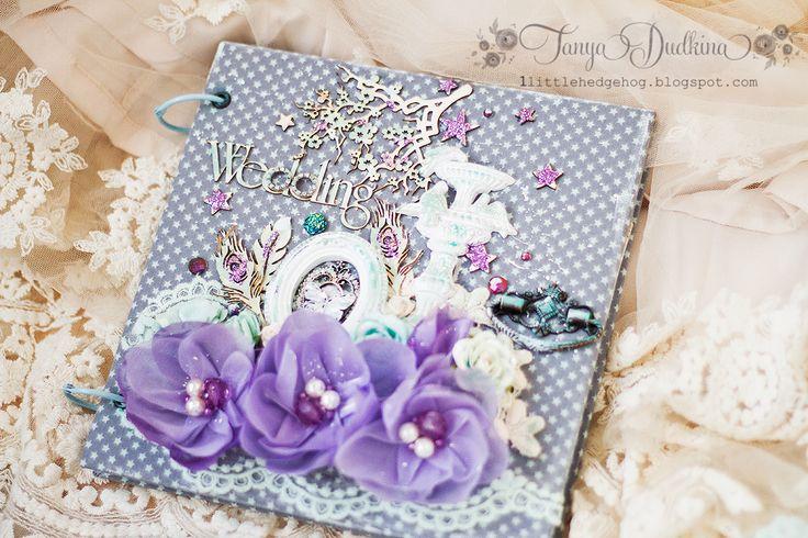 """Вдохновение: Коллекция свадебных книг пожеланий """"La tendresse"""""""