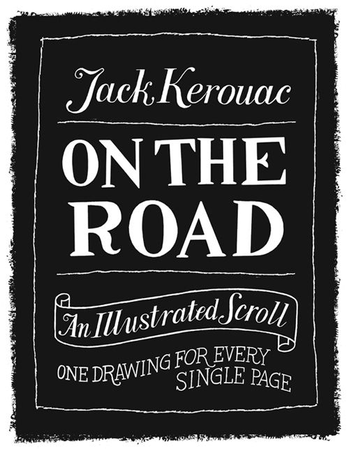 Someone illustrated a classic of #travel literature -Kerouac's On the Road- page by page
