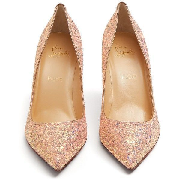 new product c1ddc 6a01c Christian Louboutin Pigalle Follies 85mm glitter-embellished ...