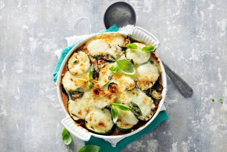 Gegrilde courgette als 'lasagnebladen': lekker! - Recept - Allerhande