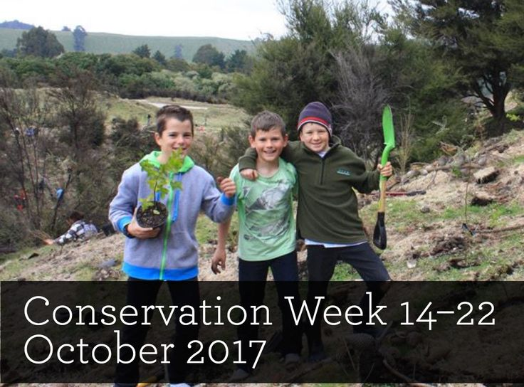 EVENT - Get into nature during Conservation Week. The overarching theme for Conservation Week is 'Healthy Nature Healthy People'. It encourages people to become aware of the link between a healthy natural environment and their own health.  Get a head start for Conservation Week 2017 by subscribing to What's Up DOC?