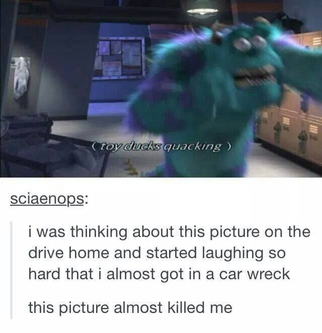 when you pause monsters, inc. in exactly the right place