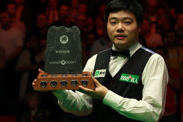 Ding Jun Hui, Defending Welsh Open Champion 2012
