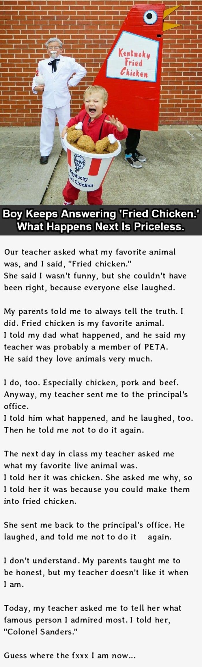 When you love chicken