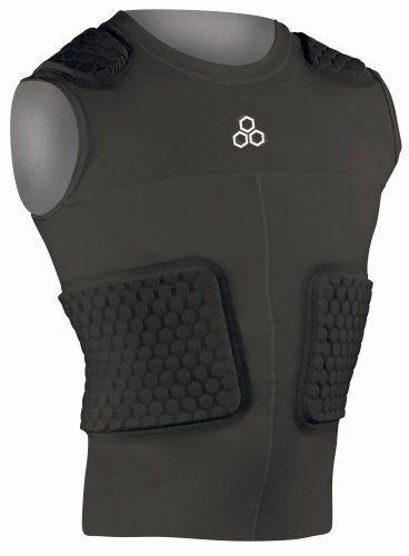 Mcdavid Custom 5 Pad Body Shirt Black Large By Mcdavid